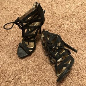 Shoes - Sexy Lace Up Heels